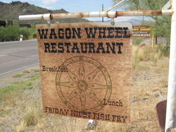 Wagon Wheel Restaurant Cave Creek Menu