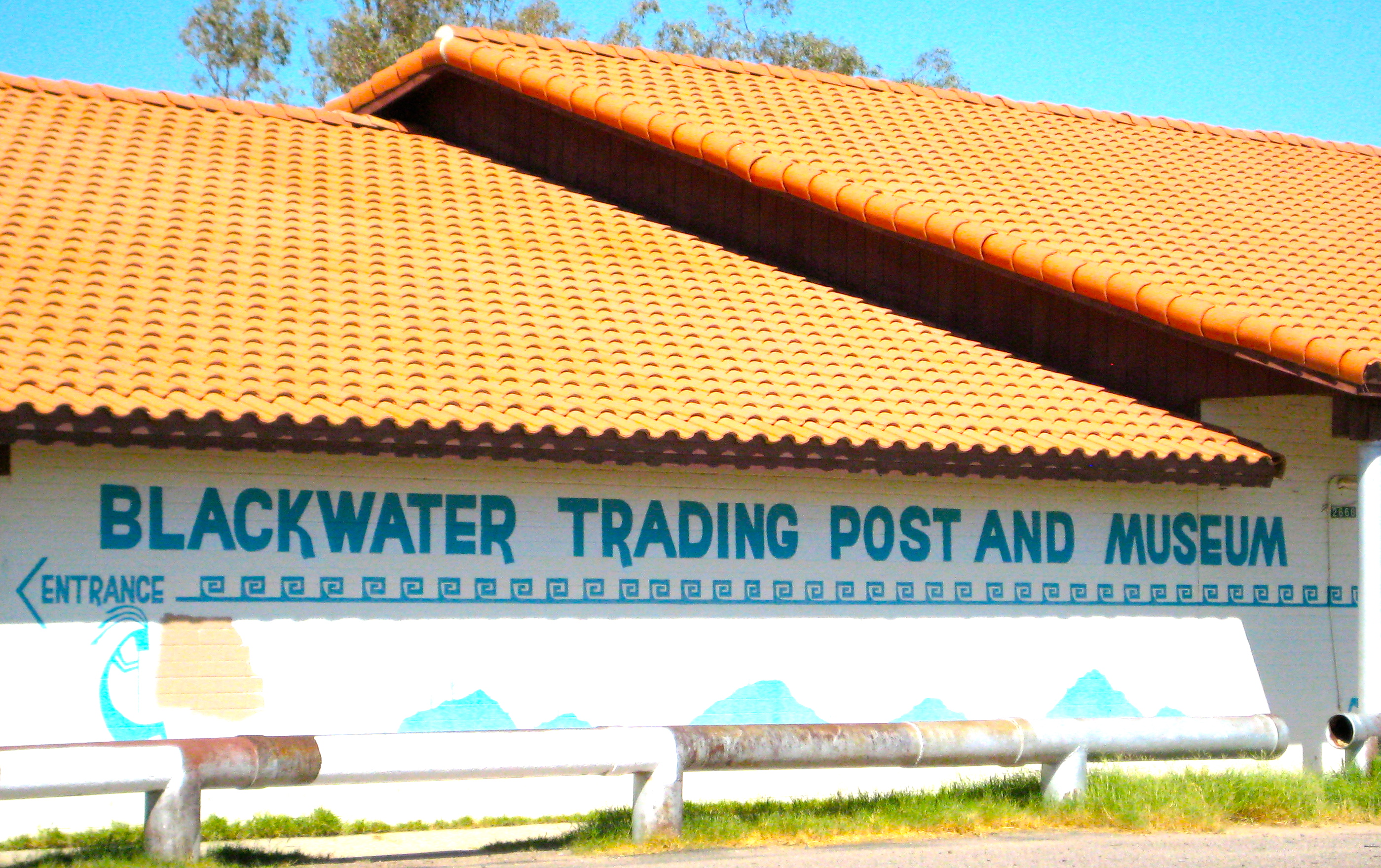 Signs of Arizona | Landmarks | Blackwater Trading Post, Blackwater